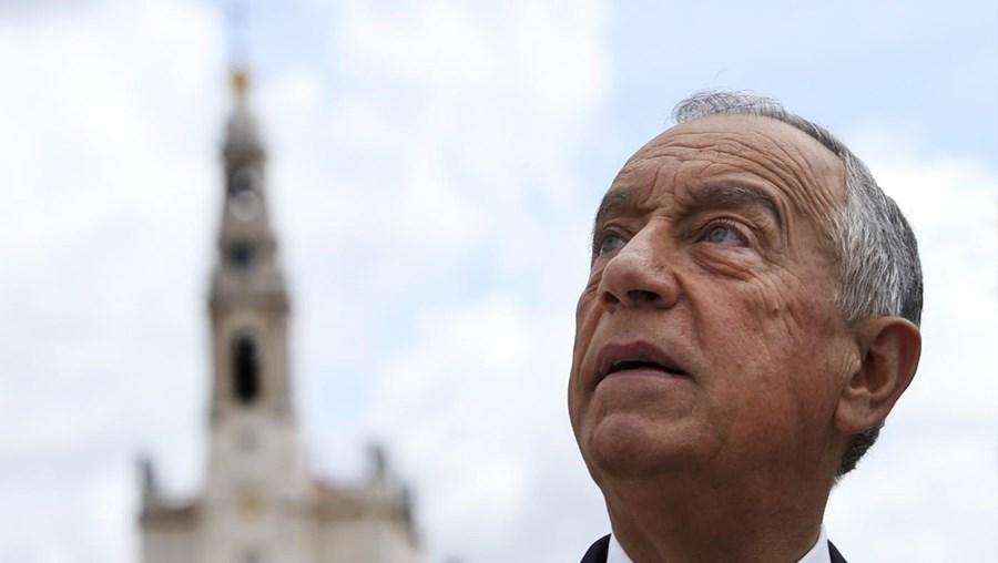 O Presidente da República Marcelo Rebelo de Sousa