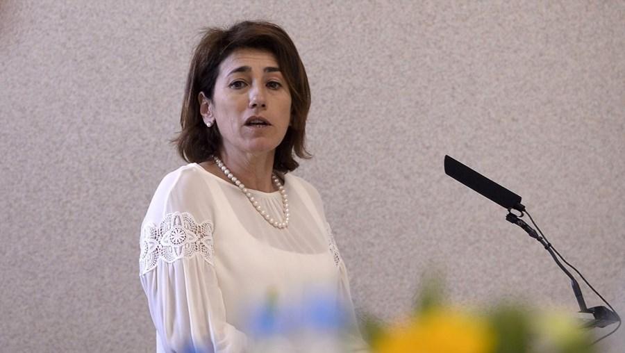A ministra da Administração Interna Constança Urbano de Sousa