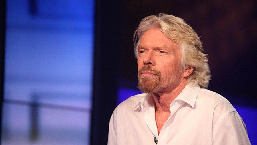 Proprietário da Virgin Group, Richard Branson