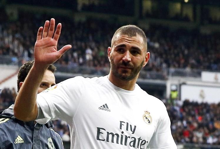O avançado Karim Benzema