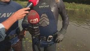 Microfone da CMTV já foi recuperado do lago