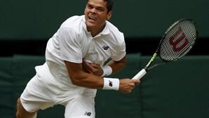 Roger Federer derrotado por Milos Raonic