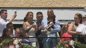 Ricardo Quaresma já foi batizado com os filhos