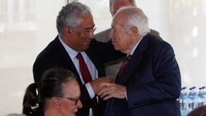 Primeiro-ministro homenageia Mário Soares