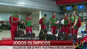 Seleção de sub-21 parte para as Olímpiadas no Rio