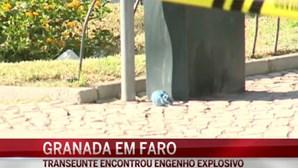 Granada causa pânico no centro de Faro