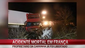 Libertado tio do condutor do acidente em Moulins