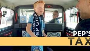 """Criança fica """"louca"""" ao conhecer Pep Guardiola"""