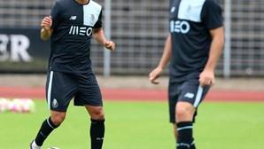 Bueno único condicionado no treino do FC Porto