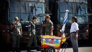Terrorista entrega-se no Brasil
