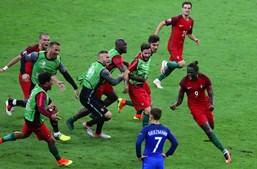 Portugal sagrou-se campeão europeu pela primeira vez, ao bater na final a anfitriã França por 1-0, após prolongamento, em encontro disputado no Stade de France, em Saint-Denis, França, com um golo do suplente Éder, aos 109 minutos