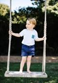 O Príncipe George faz esta sexta-feira três anos
