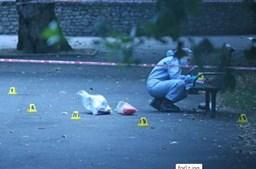 Polícia inglesa encontra-se no terreno a averiguar os contornos do crime