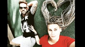 Bibi mudou de penteado e publicou fotos com o namorado nas redes sociais