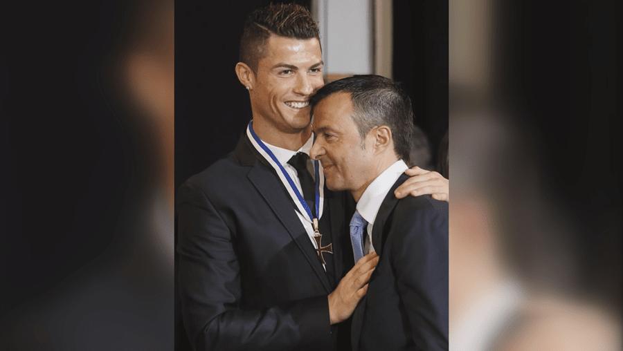 Cristiano Ronaldo e Jorge Mendes são inseparáveis