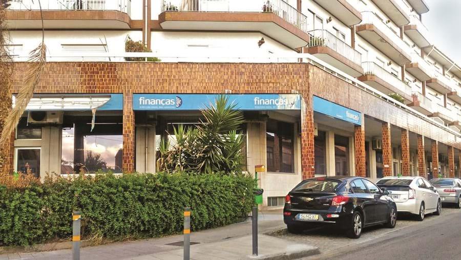 Repartição de Finanças de Rio Tinto, onde decorreram os distúrbios e as ameaças a funcionários