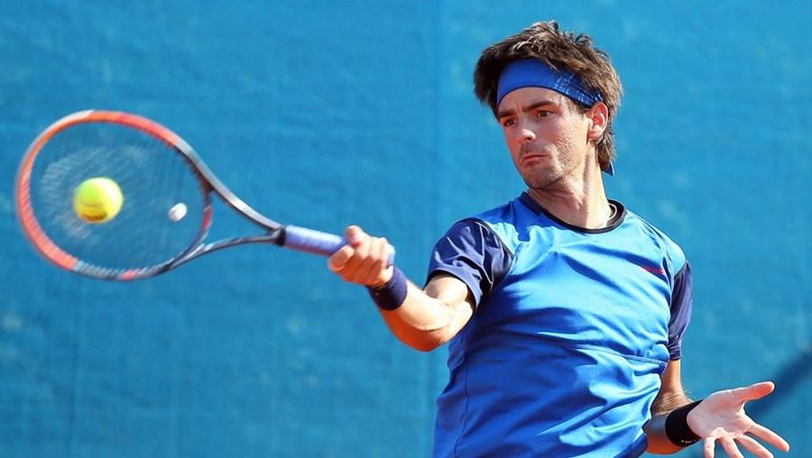 O tenista português Gastão Elias