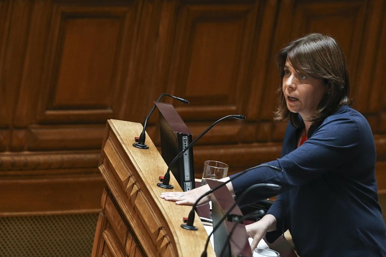A porta-voz do Bloco de Esquerda, Catarina Martins