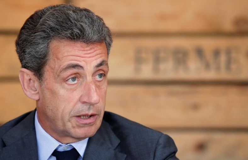 O antigo Presidente francês, Nicolas Sarkozy