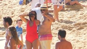 Costa diverte-se no mar do Algarve