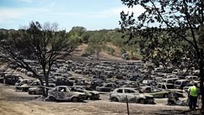 Donosde carros destruídos devem contactar seguradoras