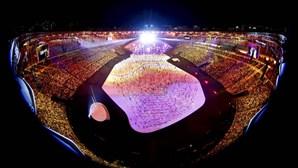 Já começou a festa Olímpica no Rio