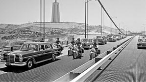 Ponte 25 de Abril vai estar aberta para visitas
