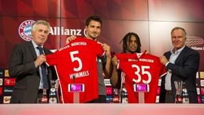 """""""Já era adepto do Bayern de Munique"""""""