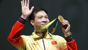 Vietnamita Hoang Xuan Vinh fez história no Rio2016