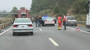 Dois mortos e três feridos em despiste na A1