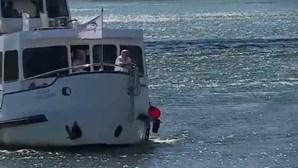 Salvos por embarcação de pesca