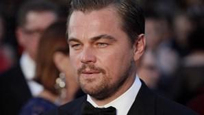 DiCaprio sofre acidente