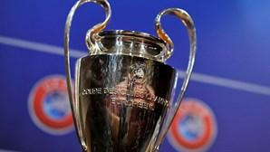 Sporting, Benfica e FC Porto já conhecem os adversários na Liga dos Campeões