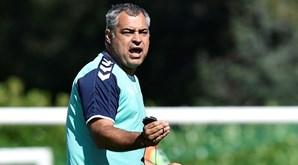 José Couceiro perspetiva um jogo difícil diante do Belenenses