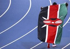 Bandeira Quénia