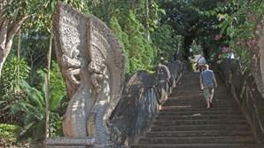 A região do Triângulo Dourado oferece alguns dos templos mais antigos da Tailândia, alguns deles escondidos na selva