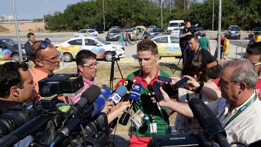 Ciclsita Rui Costa é uma das grandes esperanças de uma medalha para Portugal