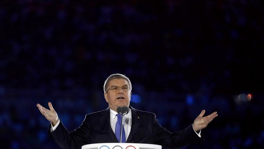 """""""O movimento olímpico, não só tolera a diversidade como se enriquece com ela"""", frisou o líder do COI"""