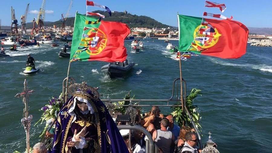 A imagem da Santa percorreu o Lima perante a presença de milhares de fiéis