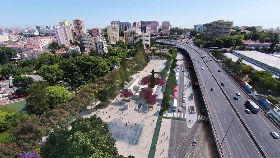 Praça de Sete Rios irá para obras no próximo mês