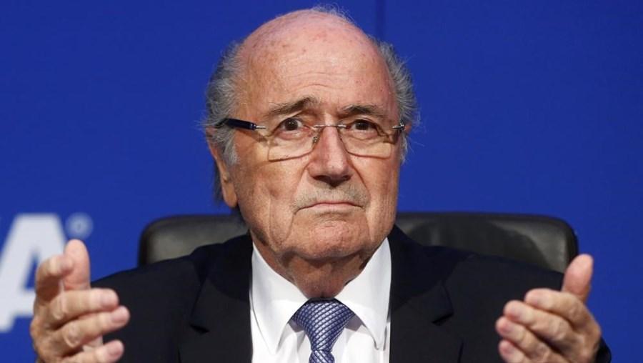 O antigo presidente da FIFA Joseph Blatter