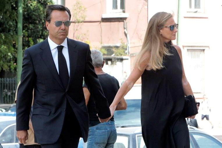 António Horta Osório e Ana juntos no funeral da mulher de Durão Barroso, Margarida Sousa Uva