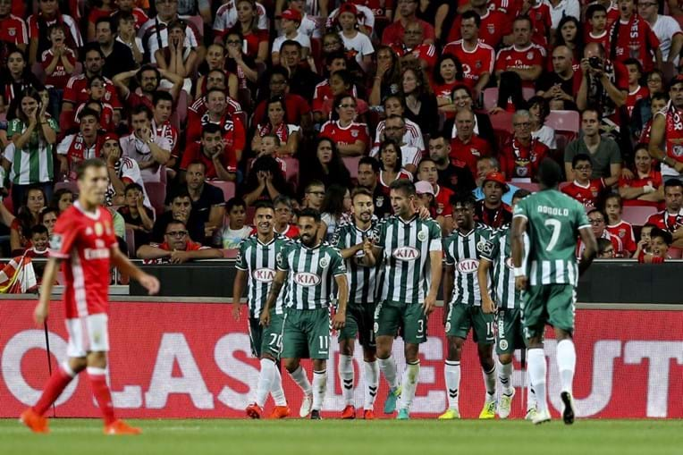Benfica, Vitória de Setúbal, Tondela, Belenenses, futebol, I Liga