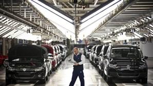 Produção automóvel em Portugal recua em fevereiro