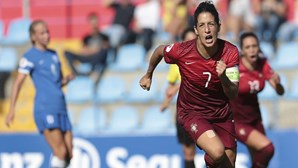 Portugal no 'play-off' para o Europeu feminino de 2017