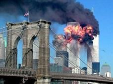 As explosões vistas da Ponte de Brooklin