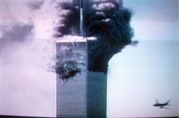 O segundo impacto como foi visto nas televisões de todo o mundo