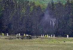 O quarto avião desviado despenhou-se numa zona rural da Pensilvânia depois de os passageiros terem tentado neutralizar os terroristas