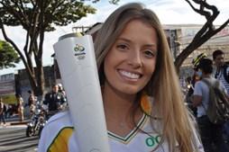 Paola Antonini nos Jogos Olímpicos