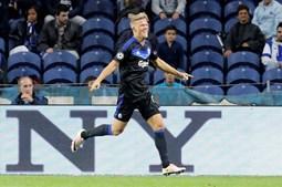 Cornelius marcou o golo do empate do Copenhaga